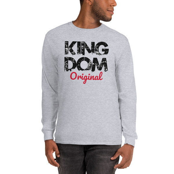 Kingdom Original LS Grey T-Shirt