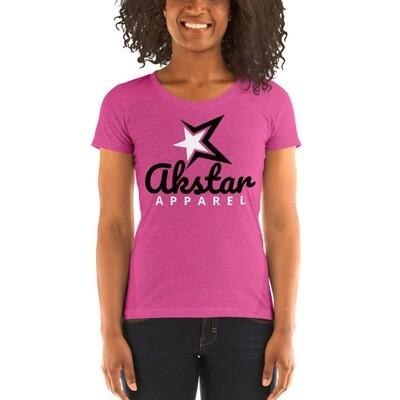 Ladies' Crewneck Pink t-shirt