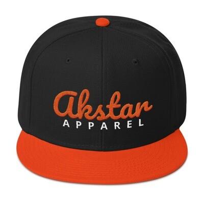 AkStar Signature Oriole Tone Snapback