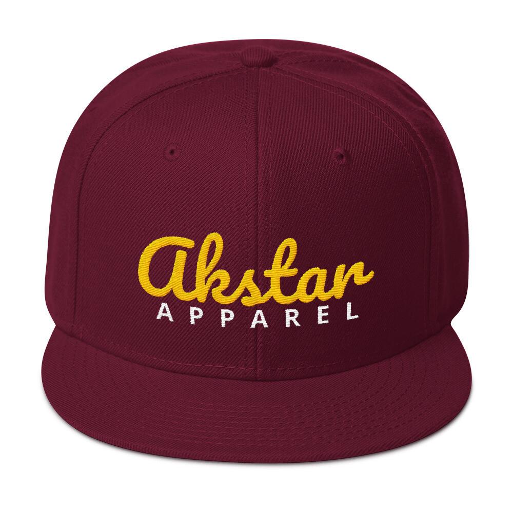 AKStar Signature Mrn Snapback Cap