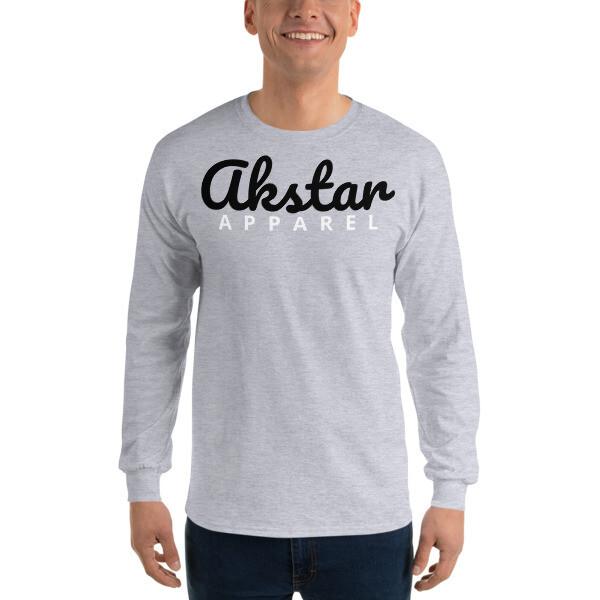 AKStar Signature Grey LS T-Shirt