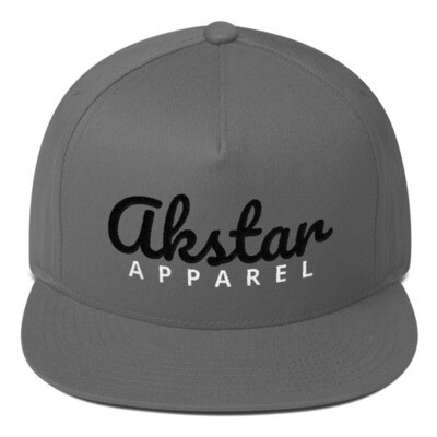 AKStar Signature Grey Snapback Cap
