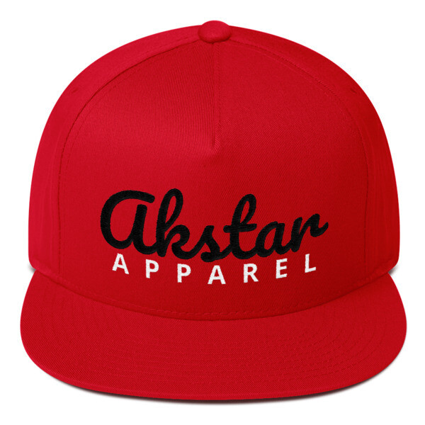 AKStar Signature Red Snapback Cap