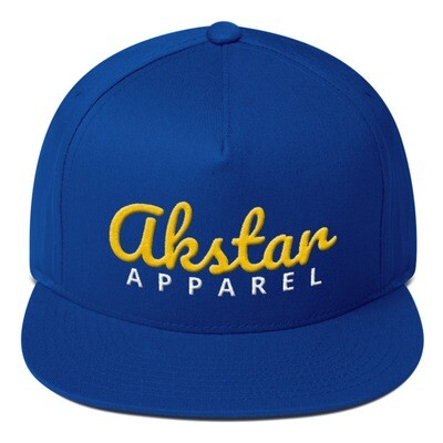 AKStar Signature Blue Snapback Cap
