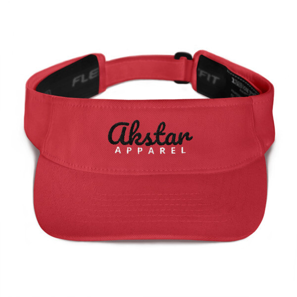 AKStar Signature Red Visor