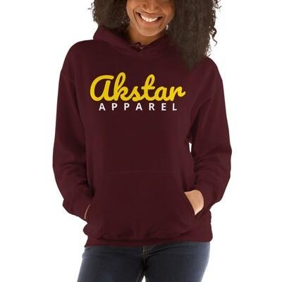 AKStar Signature Mrn Hooded Sweatshirt L