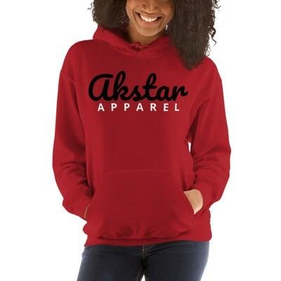 AKStar Signature Red Hooded Sweatshirt L