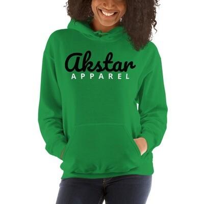 AKStar Signature Grn Hooded Sweatshirt L