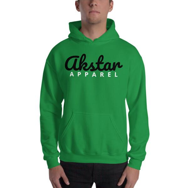 AKStar Signature Green Hooded Sweatshirt