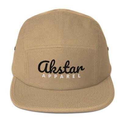 AKStar Signature Khaki Five Panel Cap