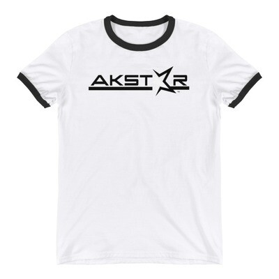 AKSA Name Ringer T-Shirt