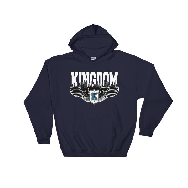 KINGDOM Men's Hooded Sweatshirt