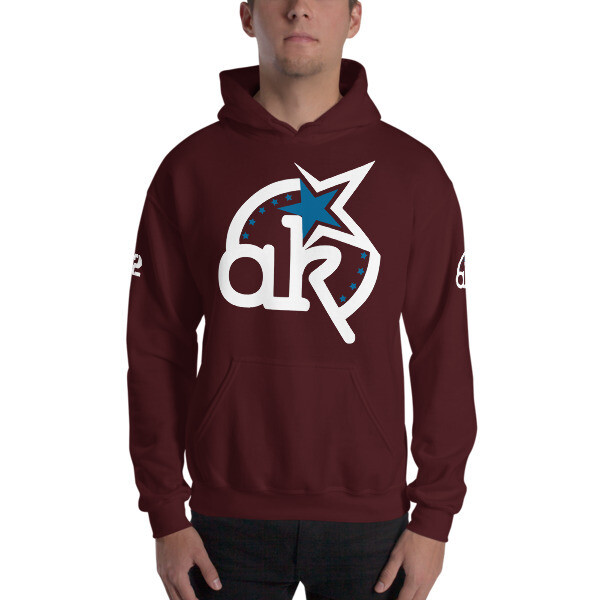 42 AKSA Logo Mrn Hooded Sweatshirt