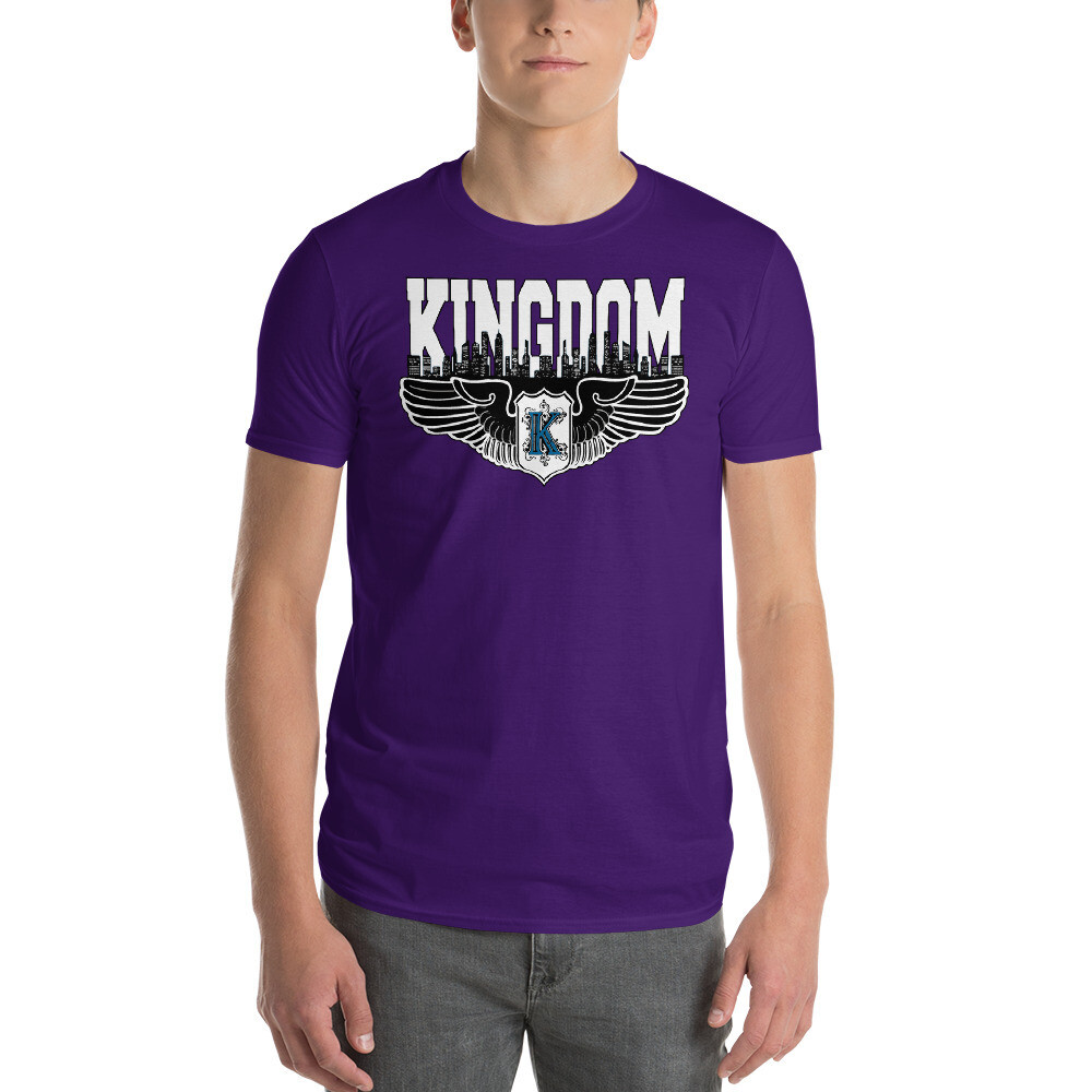Kingdom Logo Men's T-shirts (purple)