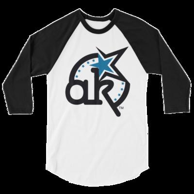 AKStar Logo 3/4 sleeve  shirt