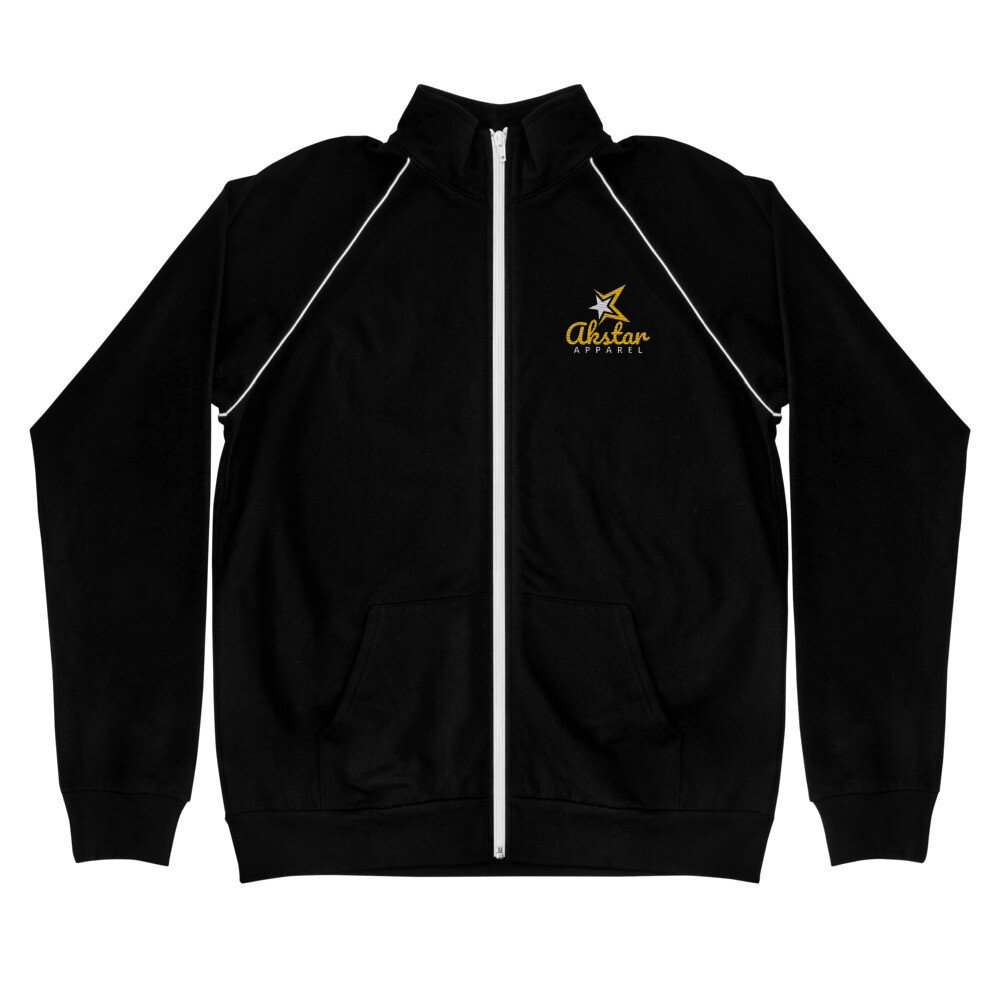 AK Signature Piped Fleece Jacket