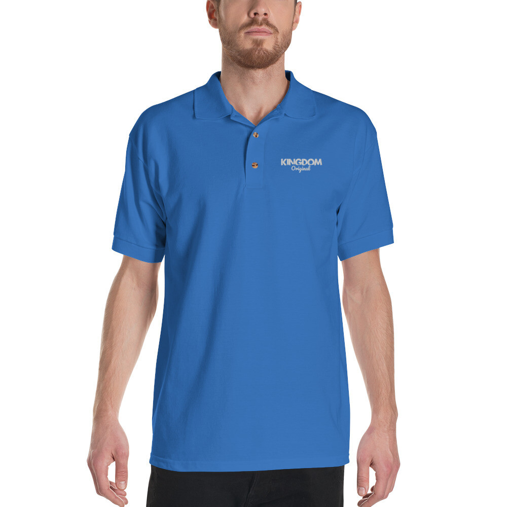 Kingdom Orig. Royal Embroidered Polo Shirt