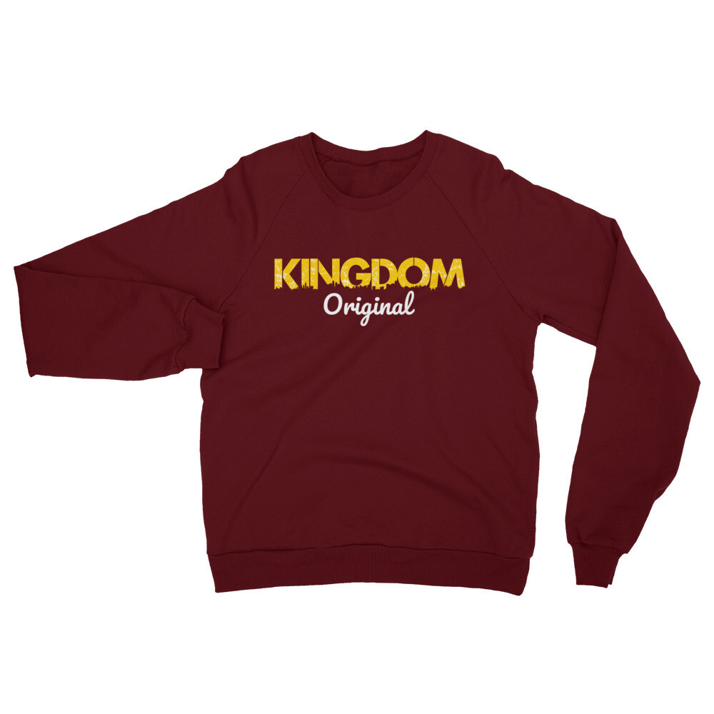 K. Original Maroon California Sweatshirt