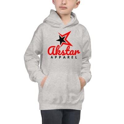 Rising AKSTAR Kids Hoodie Grey