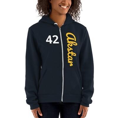 ASKA 42Hoodie Zip Navy