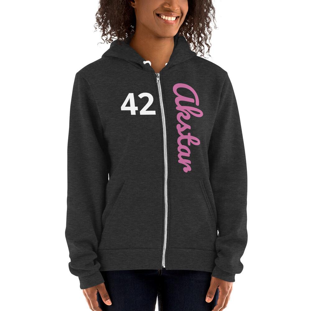 ASKA 42 Hoodie Zip Smoke