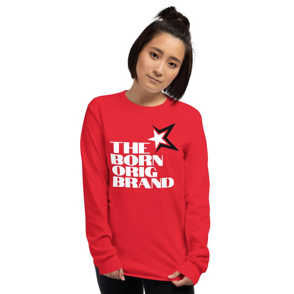 Born Original Brand Women's LS Shirt Red