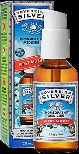 Colloidal Silver - First Aid Gel - 1 fl oz SILV_GEL