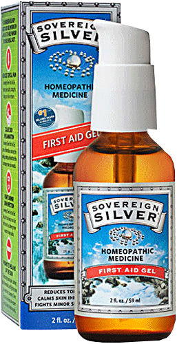 Colloidal Silver - First Aid Gel - 1 fl oz