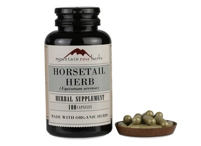 Mountain Rose Herbs - Horsetail Herb - 100 capsules
