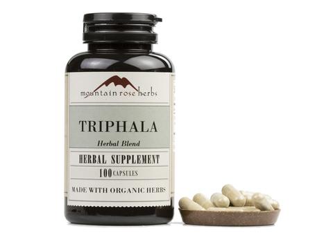 Mountain Rose Herbs - Triphala - 100 Capsules ROSE_TRIP