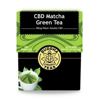 CBD Matcha Green Tea - Buddha Teas