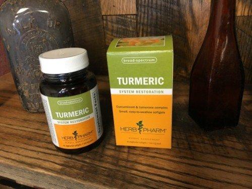Herb Pharm - Turmeric Softgels - 60 HPTURMSG