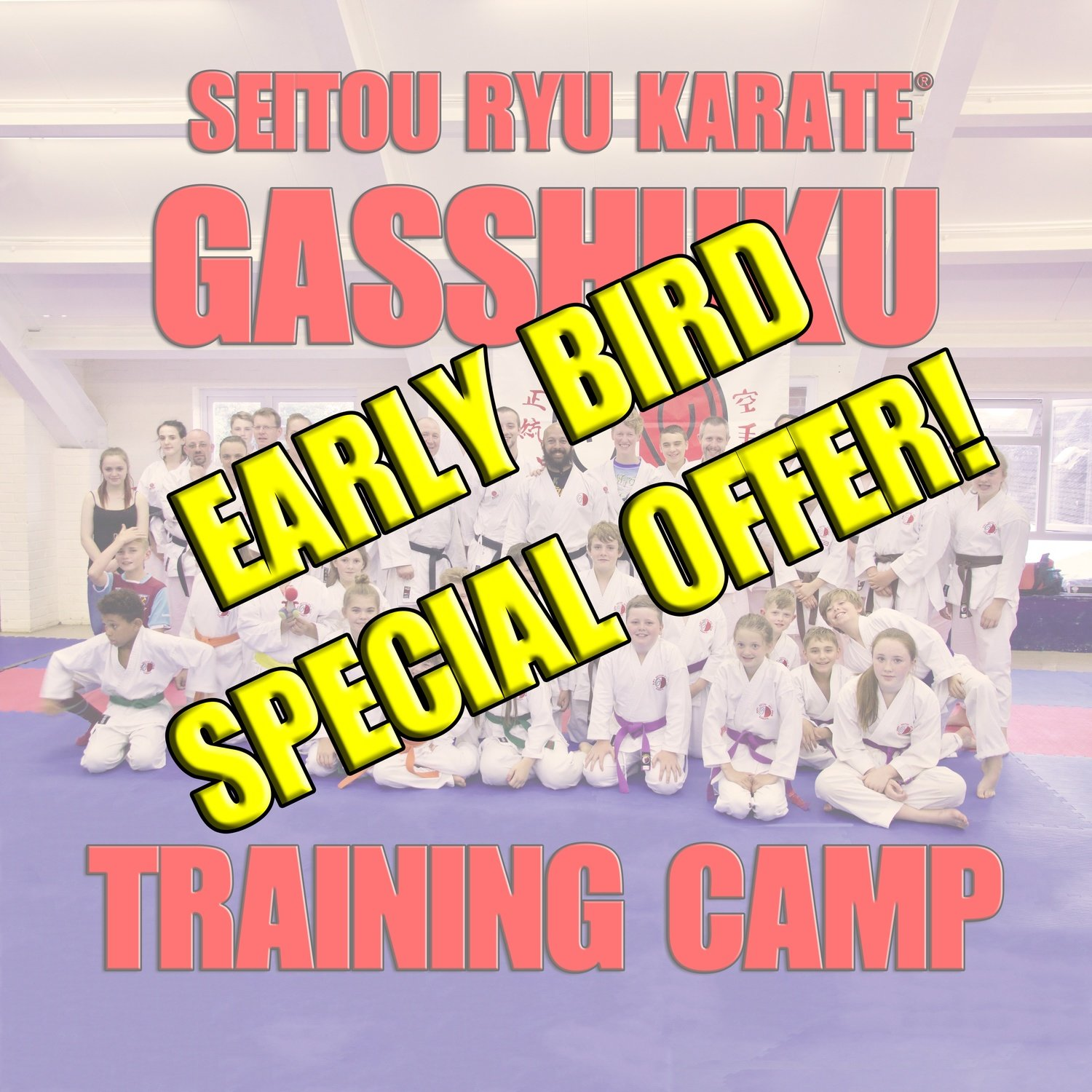 Gasshuku Training Camp (Early Bird Special Offer)
