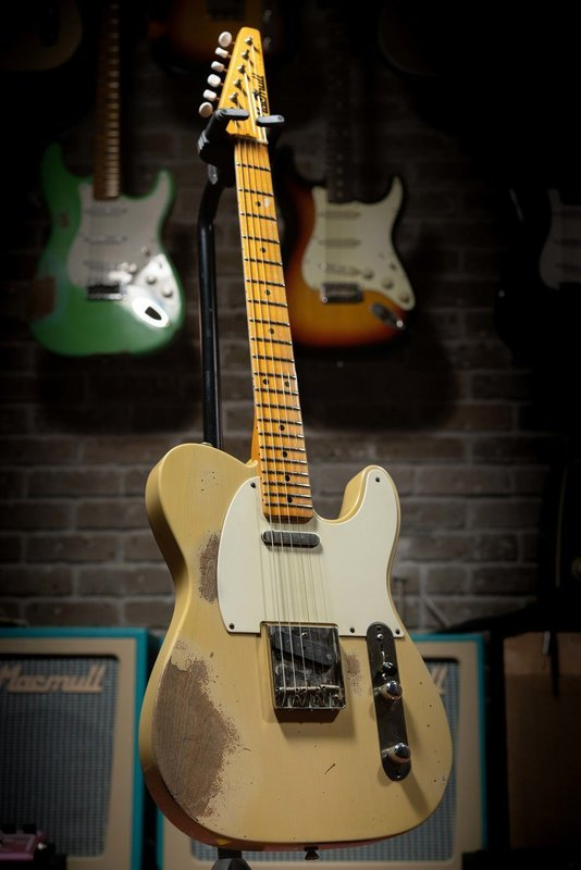 SOLD - Macmull T-Classic, Blonde, Hard Relic