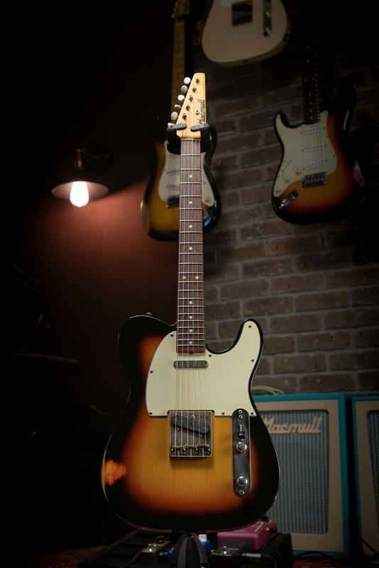 SOLD - Macmull T-Classic, 3 Tone Sunburst