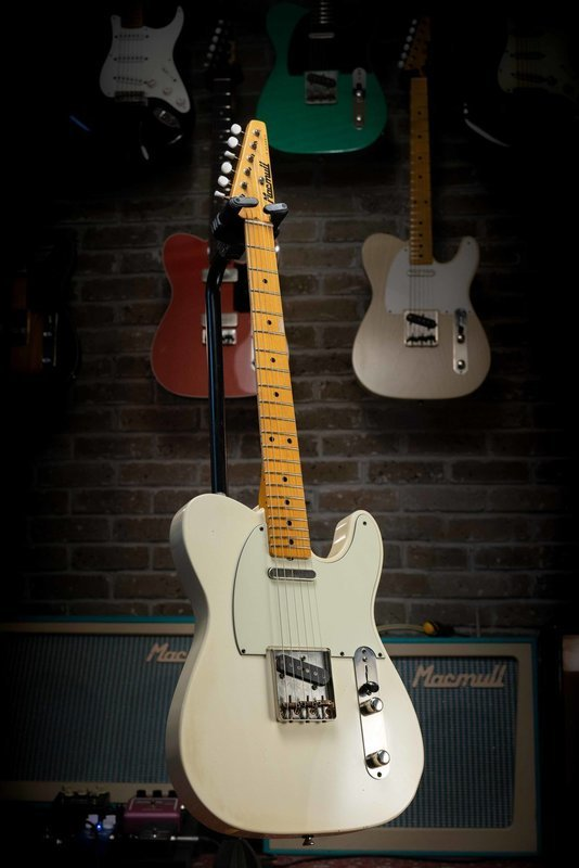 SOLD - Macmull T-Classic, Aged White