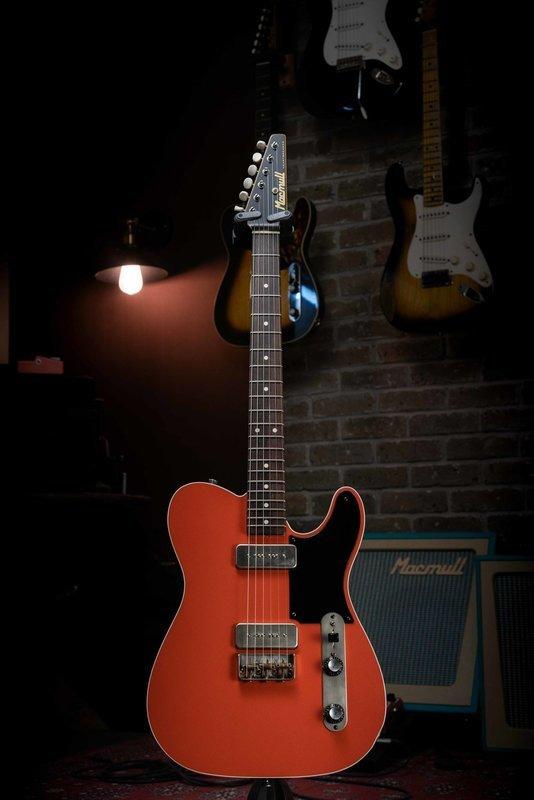 SOLD - Macmull Heartbreaker Custom, Royal Orange 3.32kg / 7.32lbs