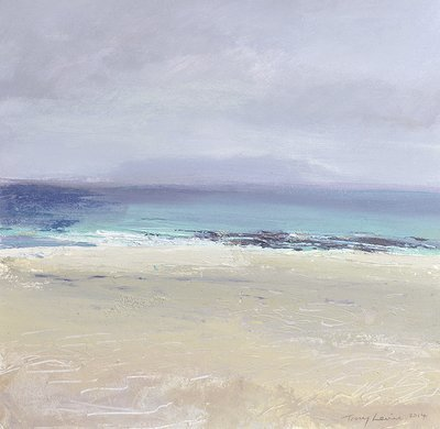 Mist on Iona. Reproduction print.