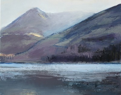Buttermere, Red Pike. Reproduction print.