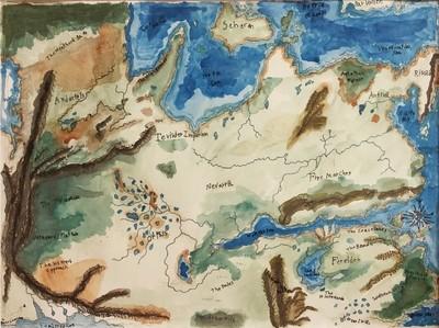 Dragon Age Map of Thados