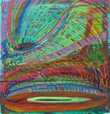 A Vortex That Absorbs Colors