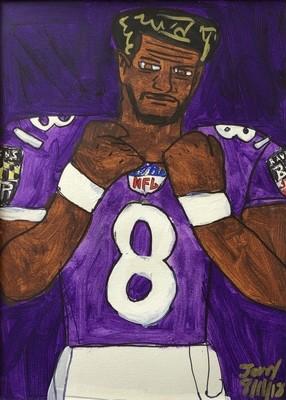 Raven Quarterback Lamar Jackson