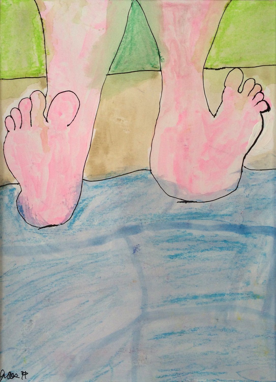 Feet Breathing II