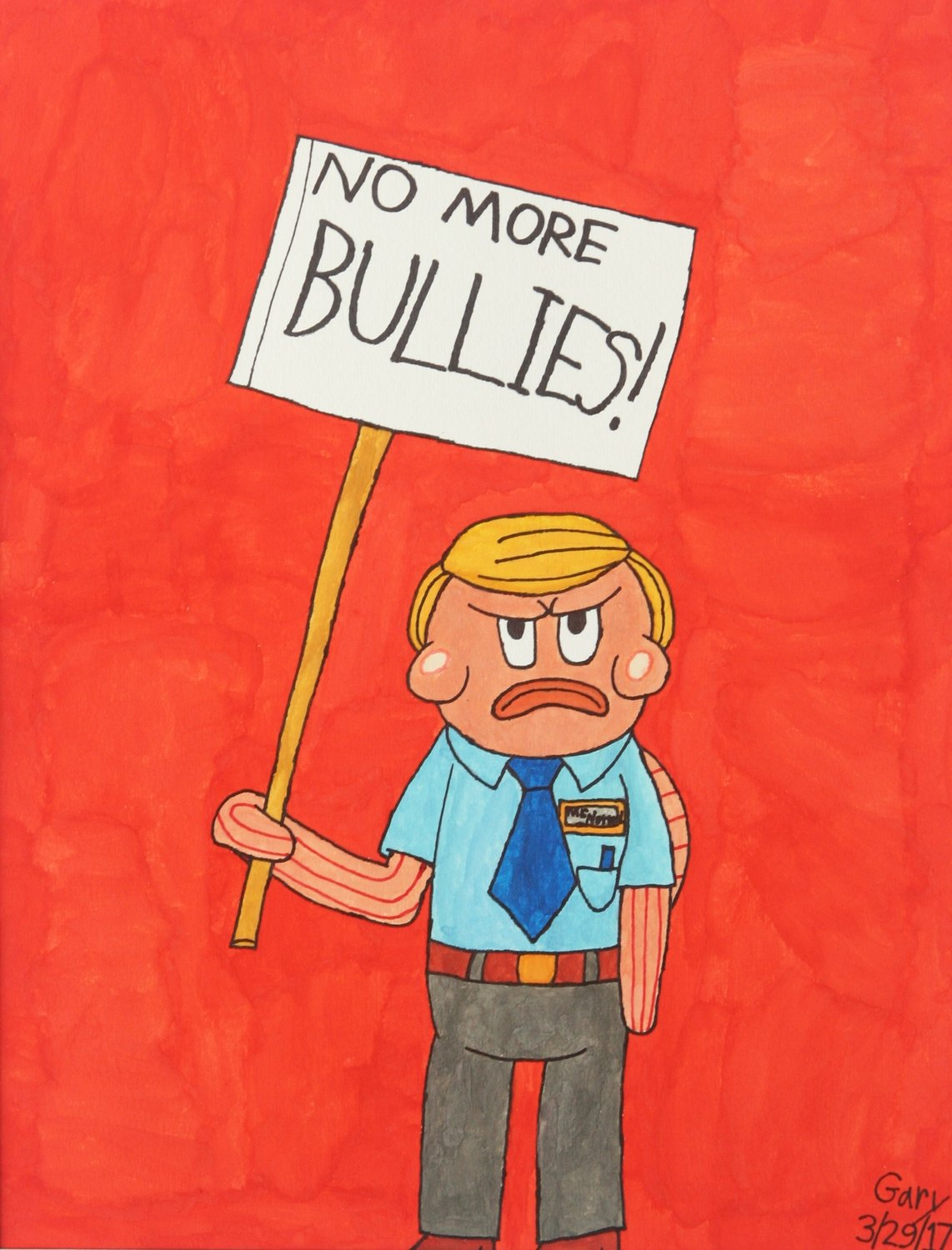 "Mr. Normal Says  ""No More Bullies!"""
