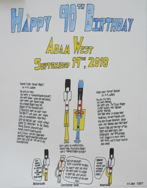 Happy Birthday Adam West: Part I