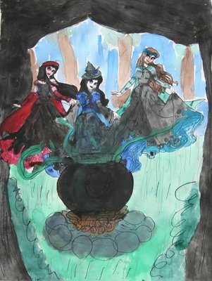 Based on MacBeth, Three Witches