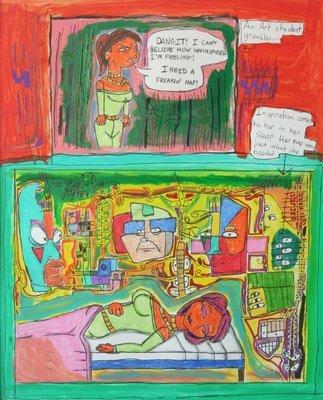 Priya – The Art Student's Nap