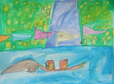 Flipper at Sea World