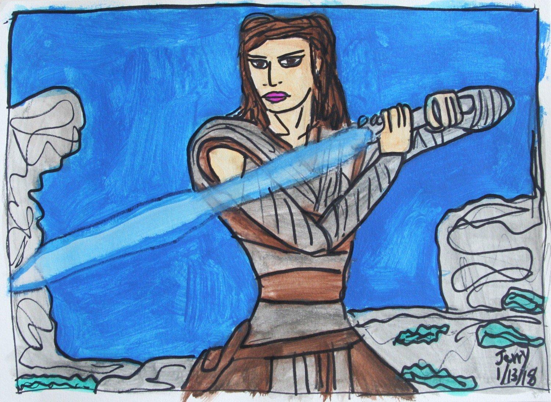 Rey: The New Jedi Knight