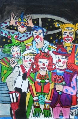 Out of This World Clown Alley